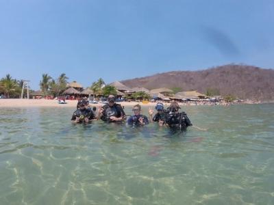 Scuba Diving Anfibios Huatulco Snorkel