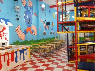 Renta de salón infantil por 5 horas Del Valle
