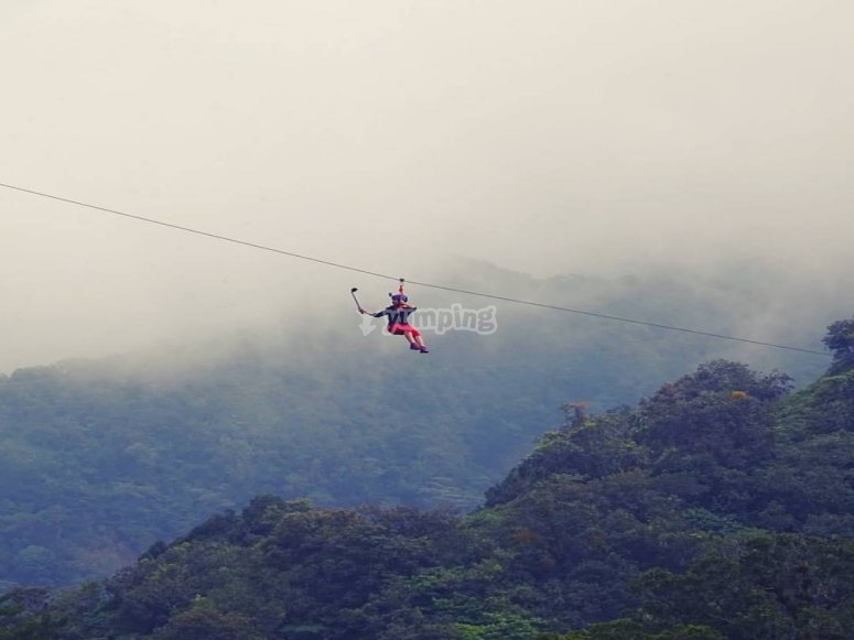 High altitude activity