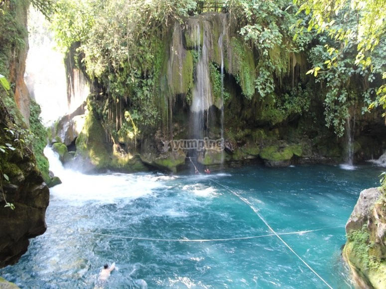 Hermoso sitio natural