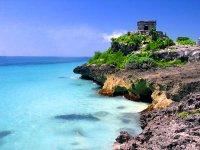 Tulum y la playa