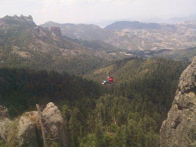 Multiadventure visit to tunnels Hidalgo 2 days