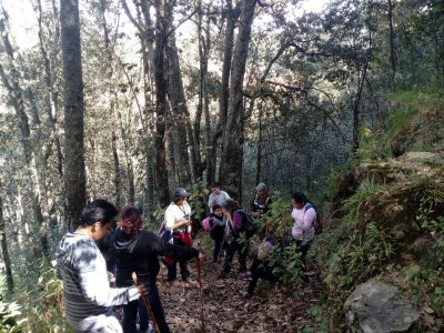 Trekking Mount Discovery 2hrs