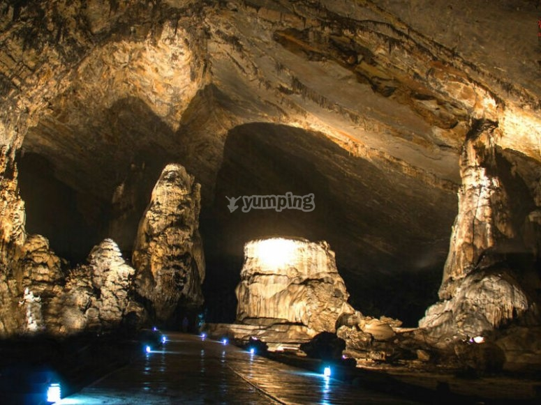 Visit the caves