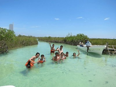 Tour privado Sian Ka'an Cancún 12 horas