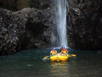 Rafting and waterfalls