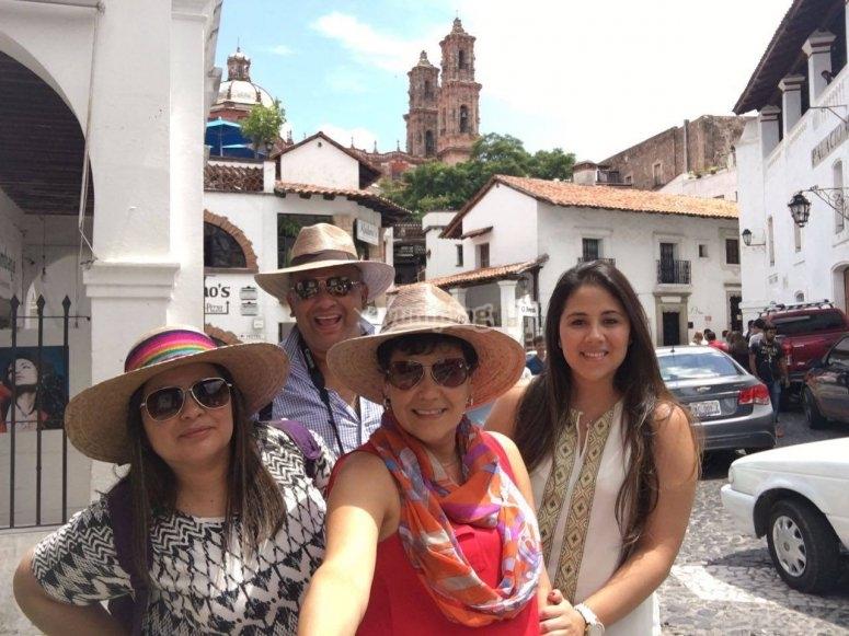 Visits around Mexico