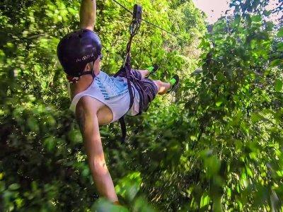 Tour 13 Ziplines and food in Puerto Vallarta 3 h
