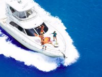 Guaranteed fun aboard a yacht