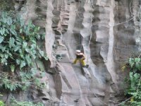 Rappelling course