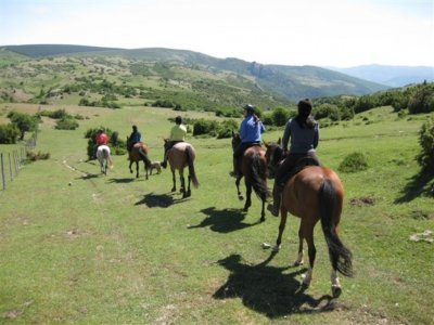 Horse riding trip to Manialtec thermal springs 3 h