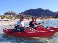 Kayak en Playa Balandra