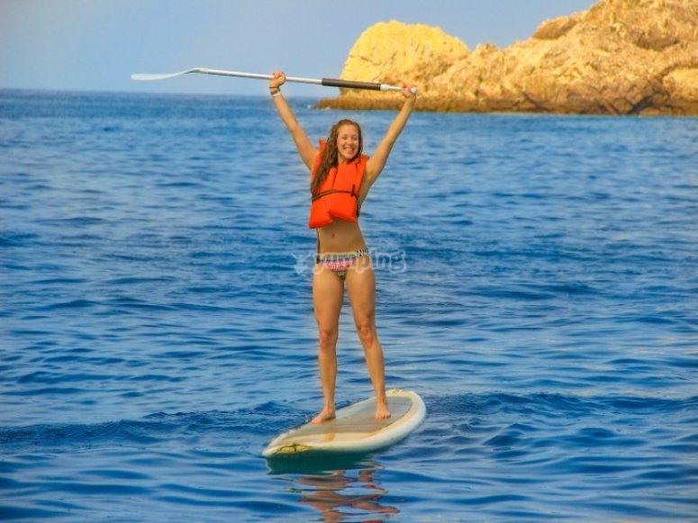Actividad de paddle surf