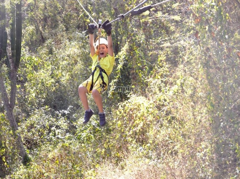 Zip-line for all ages