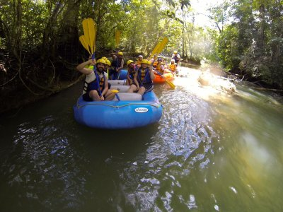 Rafting and hiking Lacanjá transportation 12 h
