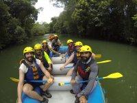 Rafting in Lacanja