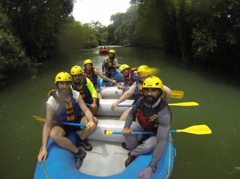rafting en selva lacandona