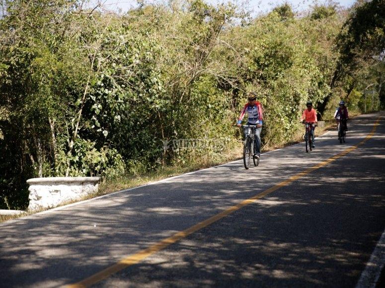 rutas de bicis en chiapas