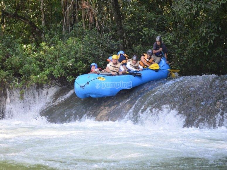 Rafting in Lacanjá