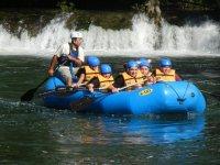 Rafting en río Lacanjá Palenque Niños 5.5 horas