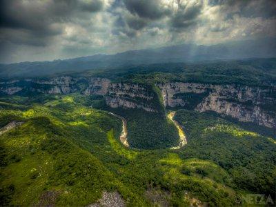 Visita a Cascada, Cañón y Biosfera el Ocote