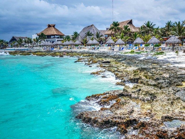 Costa  Maya de México