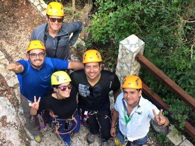 Multiadventure visit in El Zapotal nature reserve