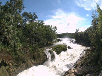 Las Nubes Waterfall and Magic Town of Comitan Tour