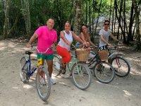 Experiencia en bicicleta por Cobá