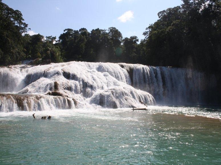 Disfruta de las cascadas