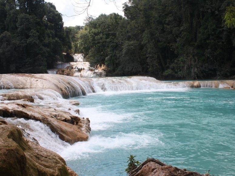 Waterfall of Agua Azul