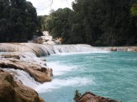 Waterfall of Blue Water