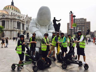 Segway tour by Reforma 2 hours