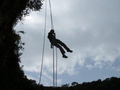 Rappel en Sima de Las Cotorras Chiapas 7 horas