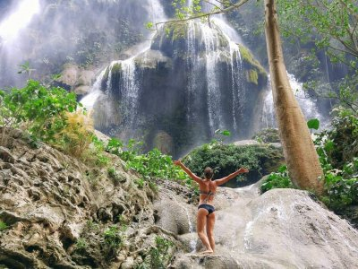 Tour Sima Las Cotorras and Waterfalls Aguacero Adults