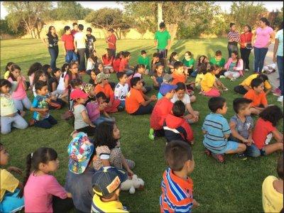 Campamento matutino San Luis Potosí