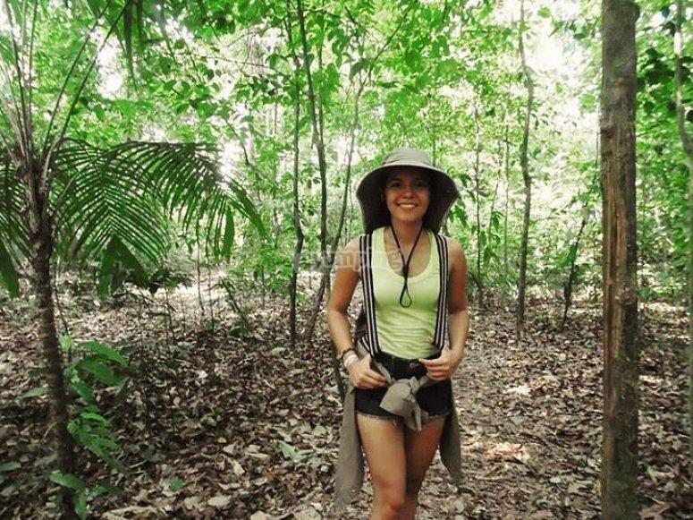 Caminata en reserva natutal