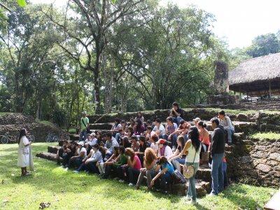 Tour en lancha Zonas Arqueológicas Chiapas Niños