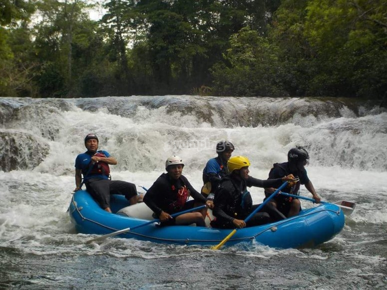 Rafting in Selva