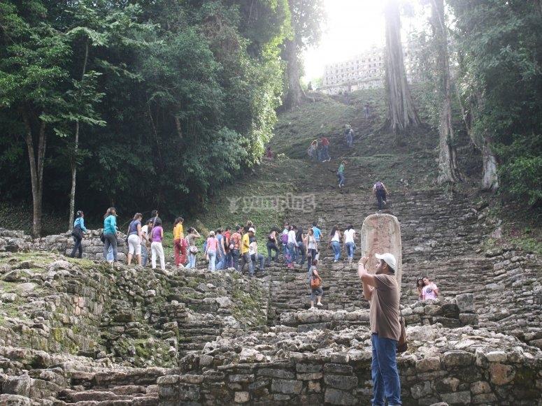 Walk through Yaxchil
