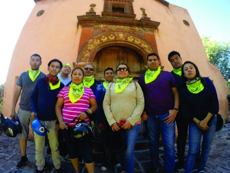 You will know the First Foundation of San Miguel de Allende