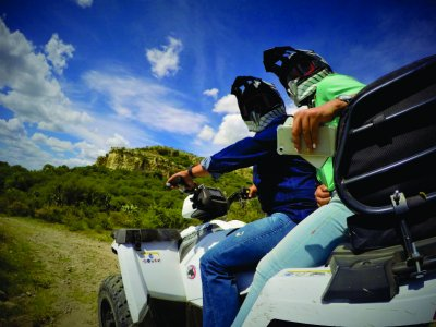 Two-seater ATV in San Miguel de Allende 2hrs.