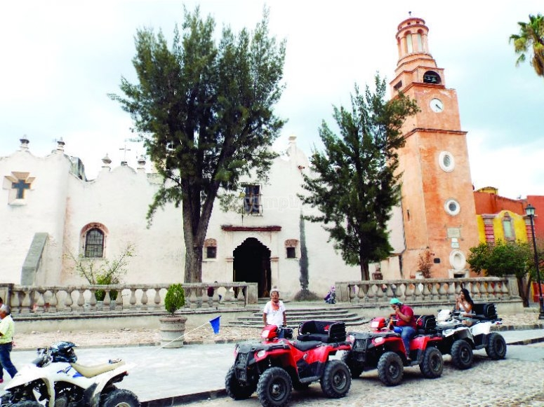 Arriving at the Sanctuary of Atotonilco