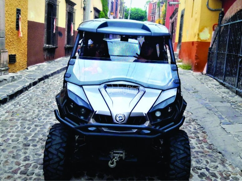 Get on a 4x4 vehicle and drive through San Miguel de Allende