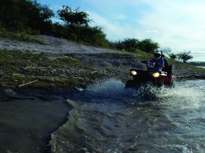 Two-seater ATV tour with 3-hour meal