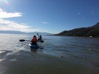 Recorrido en Kayak por el lago