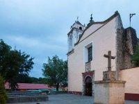 Iglesia San Juan Bautista en Huasca de Ocampo