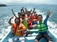 Adventure at sea