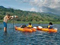 Kayaks and photography