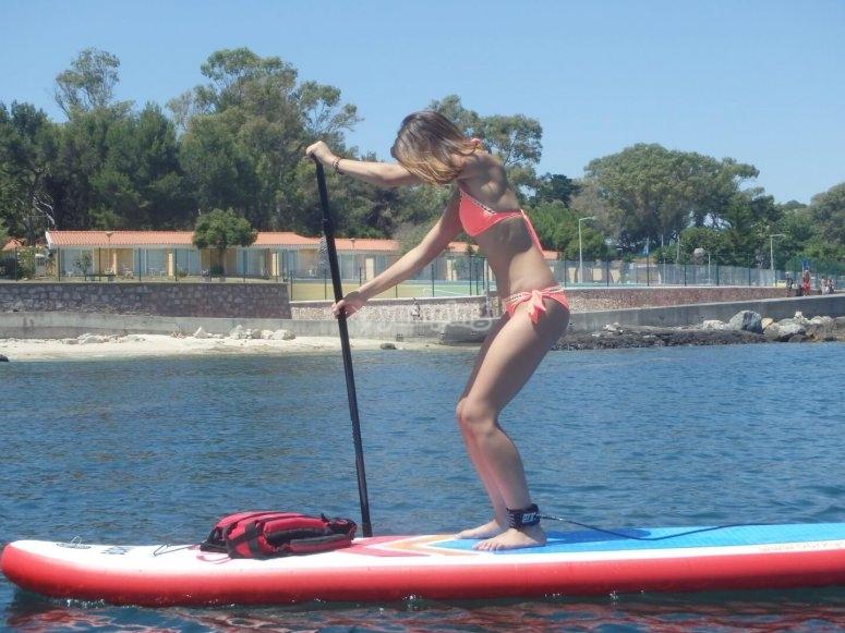 dos horas de paddle board